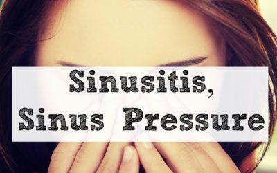 Sinusitis, Sinus Pressure