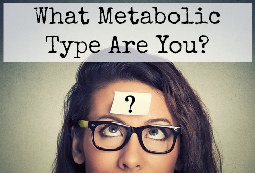 Metabolic Typing: Part 6 (What Type Are You?)