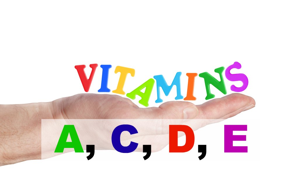 90 Essential Nutrients- Part 4: Vitamins A,C,D,E