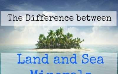 The Difference between Land and Sea Minerals