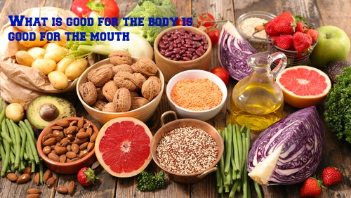 Nutrients in Food and their bodily purpose XIV (Dental nutrients)