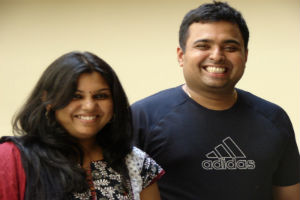 A Happy Couple: Aparna and Ganesh