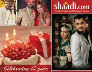 Shaadi.com Turns 15