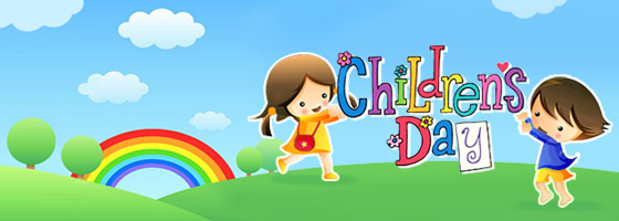 It's Children's Day!