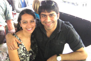 Married and Happy: Kunal and Shruti