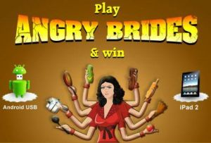 Women 'Hit Back' by Playing Angry Brides