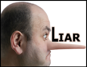 Men Lie Six Times a Day, Study Finds