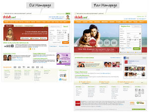 Shaadi.com Gets a New Look