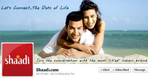 Shaadi.com, World's Most Engaging Brand on Facebook