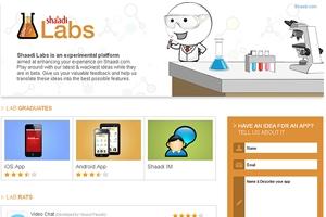 Shaadi.com Introduces 'Shaadi Labs'