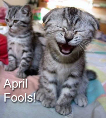 It's April Fool's Day!