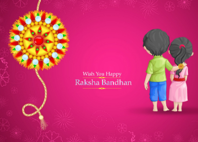 Celebrating Raksha Bandhan!