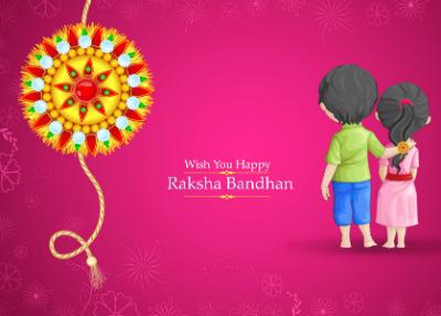 Celebrating Raksha Bandhan!