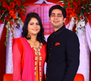 Picture-Perfect Couple: Anupam and Megha