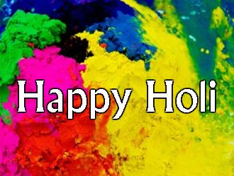 Celebrating Holi!
