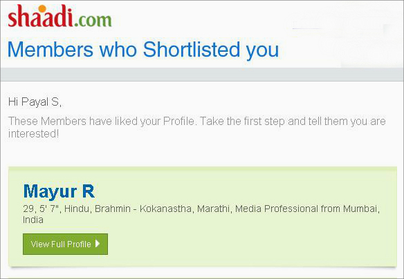 Know Who Shortlisted You in Your Inbox