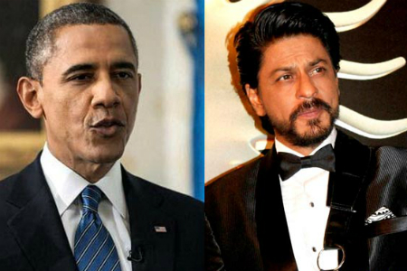 SRK and Barack Obama Voted as Most Admired Dads