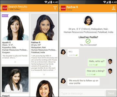 Shaadi.com App Gets a Whole New Look