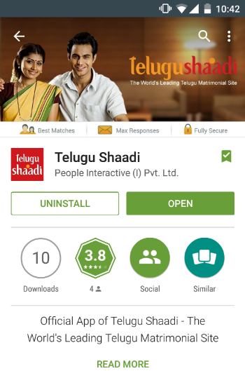 Shaadi.com Launches The Telugu Shaadi App