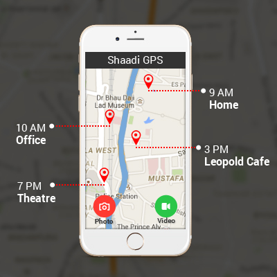 Shaadi.com Launches The 'Shaadi GPS' App That Allows You to Track Your Partner's Location