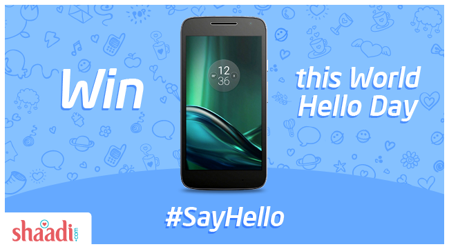 Winner of the #SayHello Contest 2016 is..