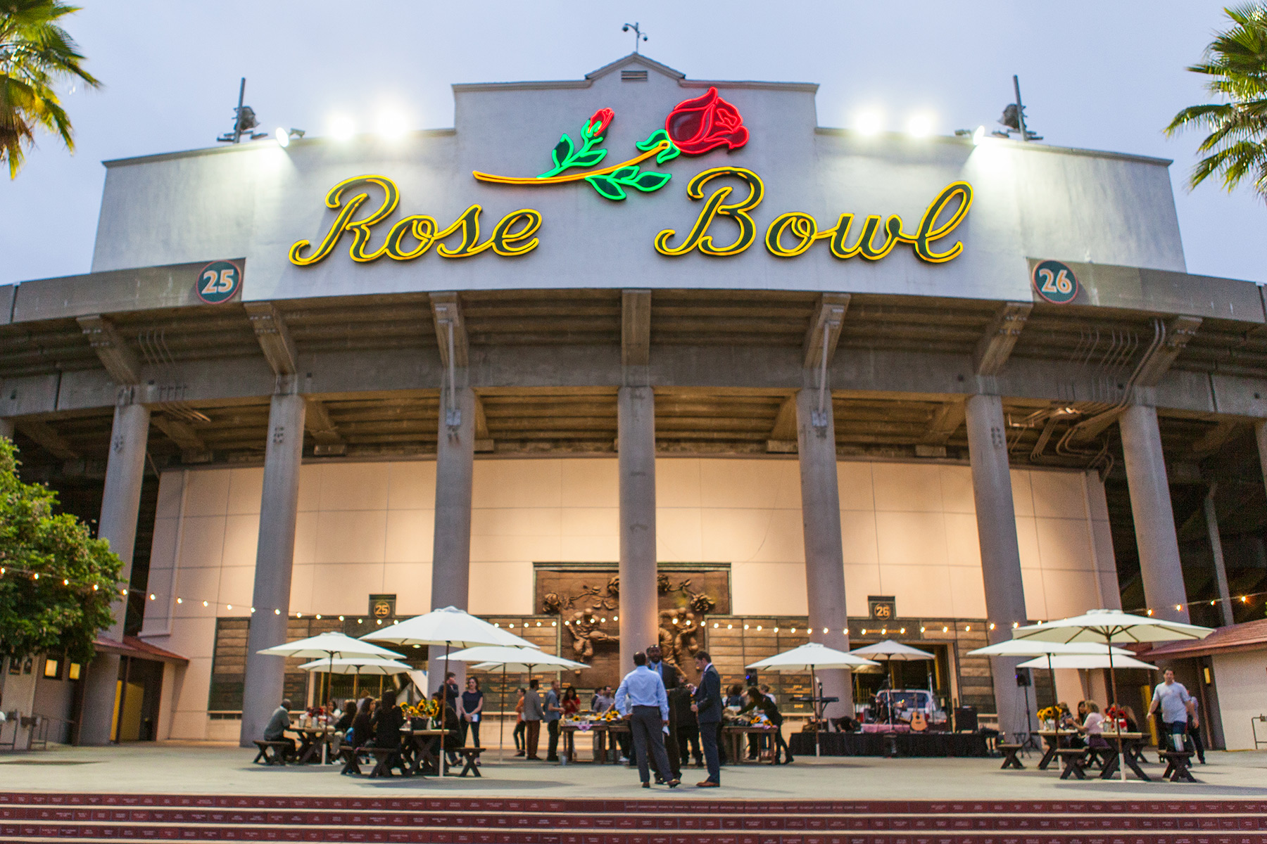 Wolfgang Puck Catering and Events at Rose Bowl Stadium