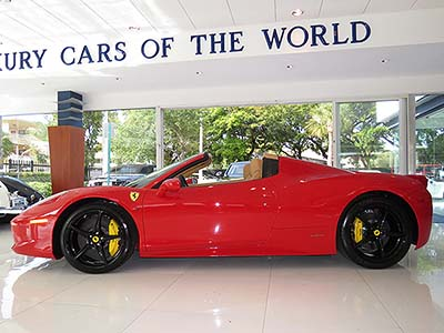 2013-Ferrari-458-Italia-Spider for sale