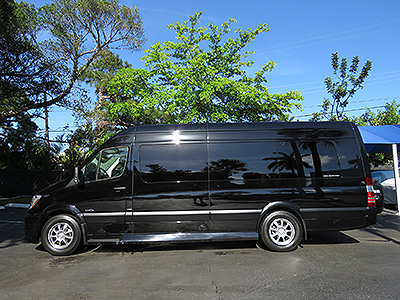 2015-Mercedes-Benz-Sprinter Limo for sale