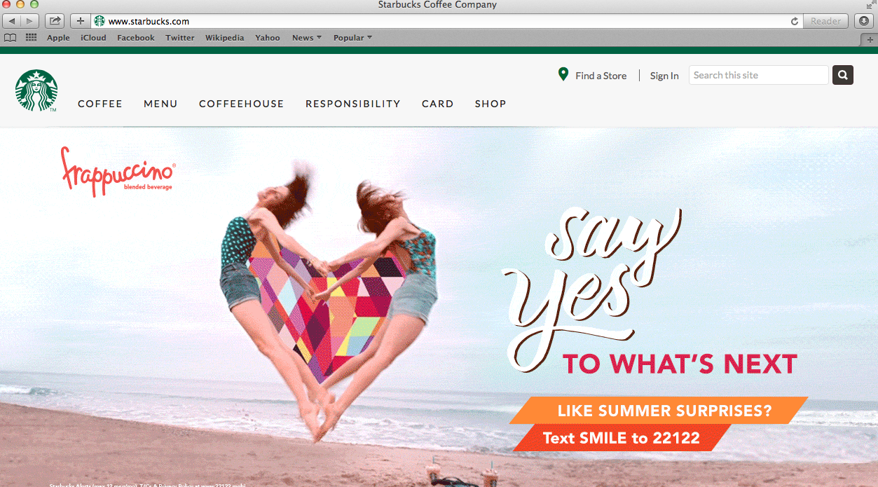 Starbucks Site
