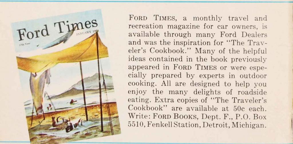 Traveler's Cookbook: 8
