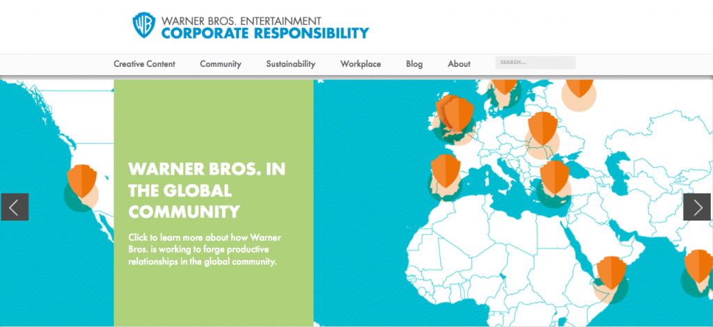 Warner Bros Corporate Responsibility