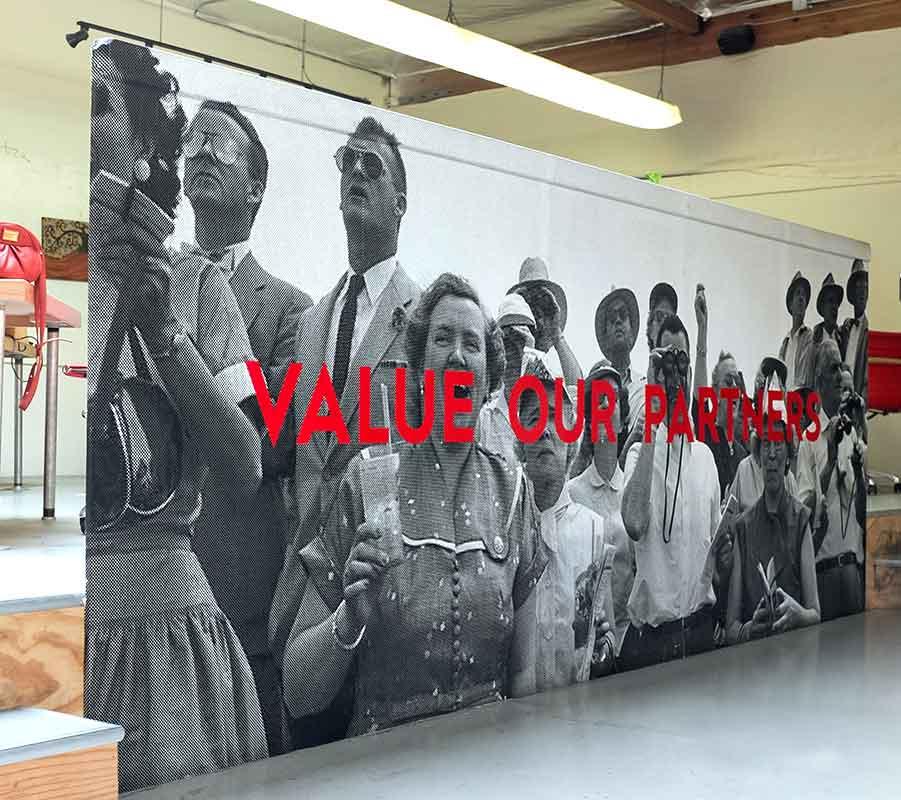 Five Columns: Value Our Partners