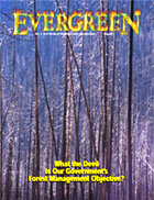 Cover of August 2003 Issue of Evergreen Magazine