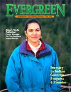 Cover of June 1998 Issue of Evergreen Magazine