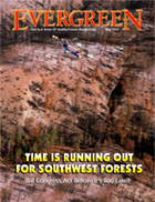 Cover of May 2003 Issue of Evergreen Magazine