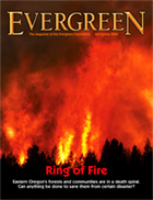Cover of Mid-Spring 2006 Issue of Evergreen Magazine