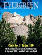 Cover of September 1999 Issue of Evergreen Magazine