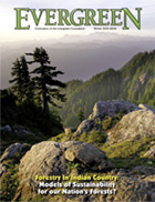 Cover of Winter 2005 Issue of Evergreen Magazine