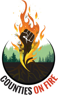 Counties on Fire Logo