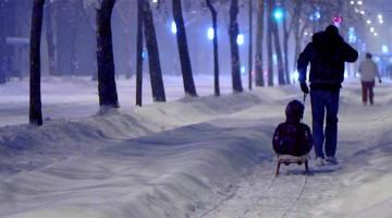 On Snowy Nights