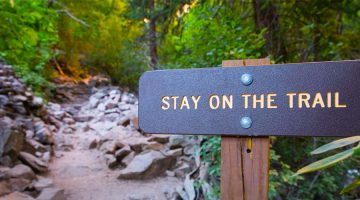 Stay-on-the-trail