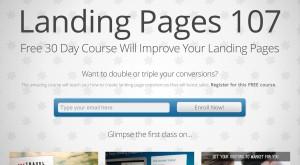 easy landing page plugin