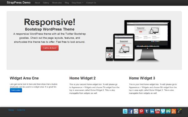 StrapPress – WordPress Theme Free Download