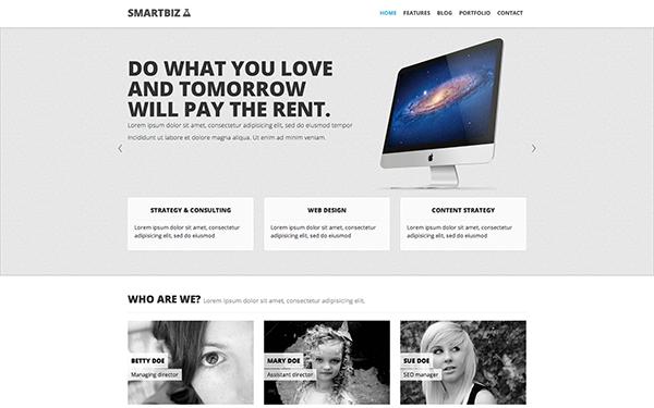 SmartBiz – Responsive Theme Free Download