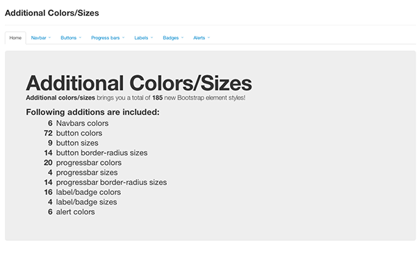 Additional Colors/Sizes Free Download