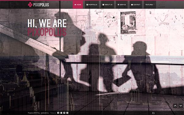 Pixopolus – Creative Portfolio Free Download