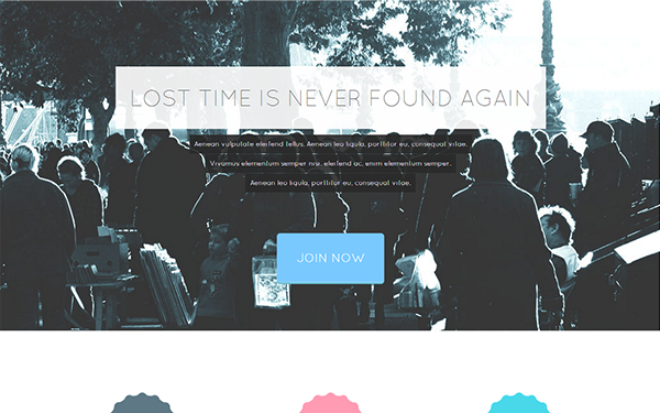 Tempus – Modern Landing Page Free Download