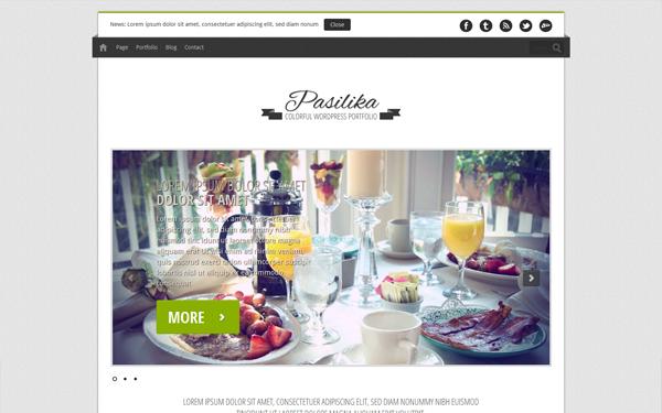 Pasilika – Restaurant Template Free Download