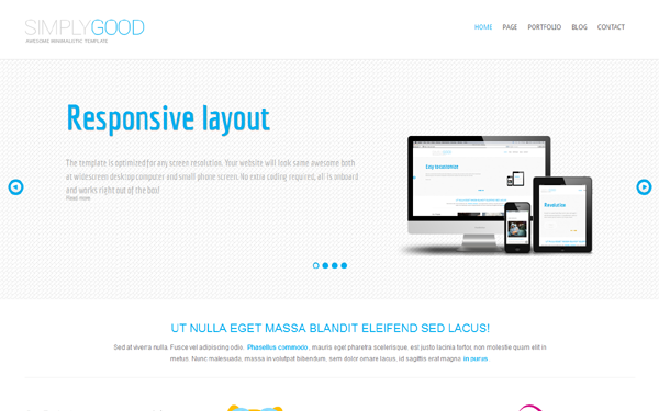 SimplyGood Business Theme Free Download