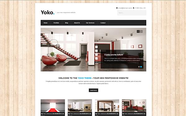 Yoko Responsive – Multipurpose Theme Free Download